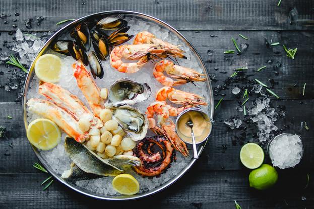 Ресторан «Пряности & радости», Санкт-Петербург: Плато из морепродуктов