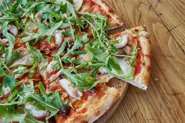 Ресторан «Jamie's Italian», Санкт-Петербург: Пицца «Кружетт поло»