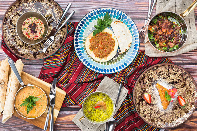 Mindal Cafe: Турецкий сет