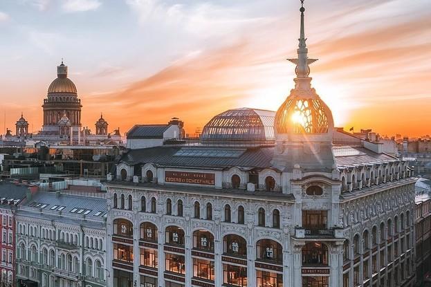 кейтеринг «Culinaryon», Санкт-Петербург: Универмаг Au Pont Rouge