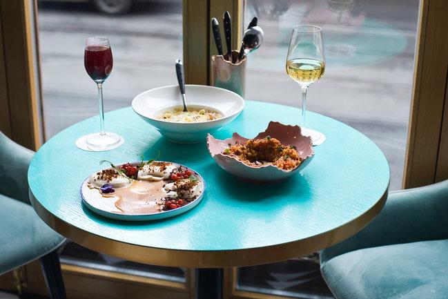Salute bistro&bar: Гастрономический ужин с Сергеем Фокиным