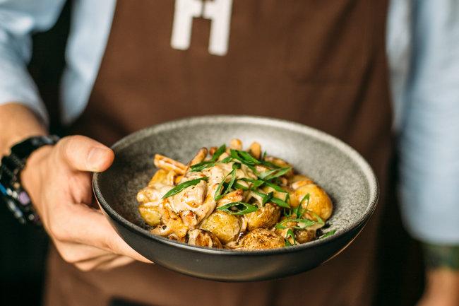 Italy на Большом: Блюда с летними грибами