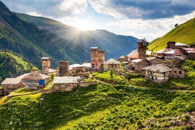 Пряности & радости: Большое грузинское застолье