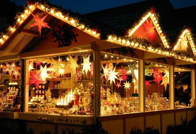 Корюшка: Новогодне-рождественские лавки