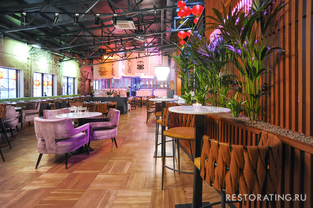 ресторан «Mandarin Square», Санкт-Петербург