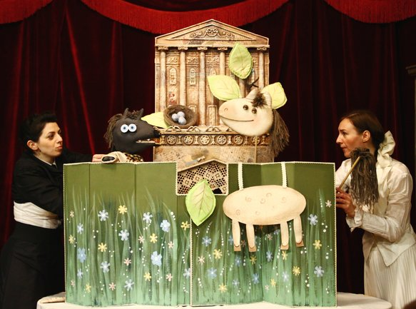 Grill Station: Кукольный спектакль «Сказки Шаляпина»