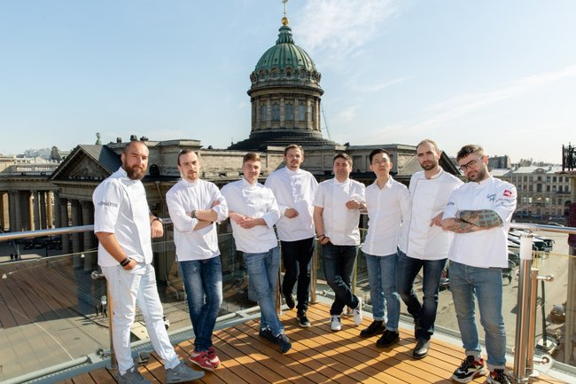 Terrassa: St. Petersburg Gourmet Days