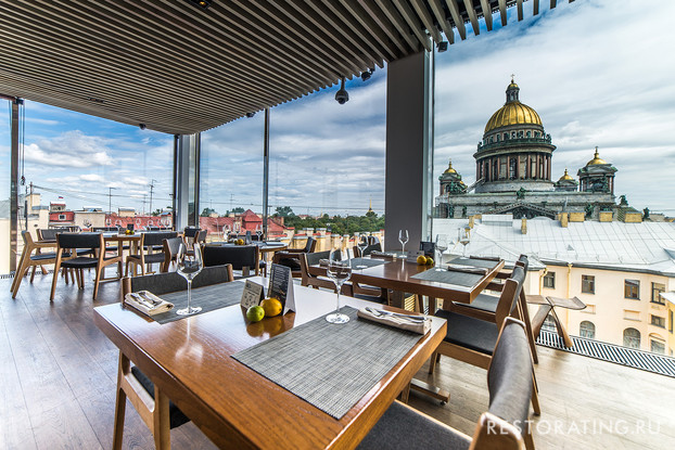 ресторан «Мансарда», Санкт-Петербург