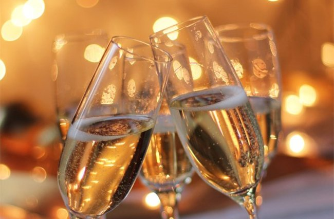 La Vue: Ужин с шампанским