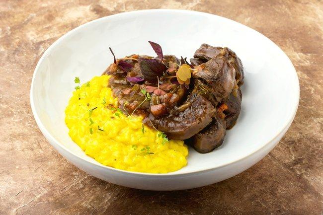 Romeo's Restaurant: Италия, хурма и трюфели