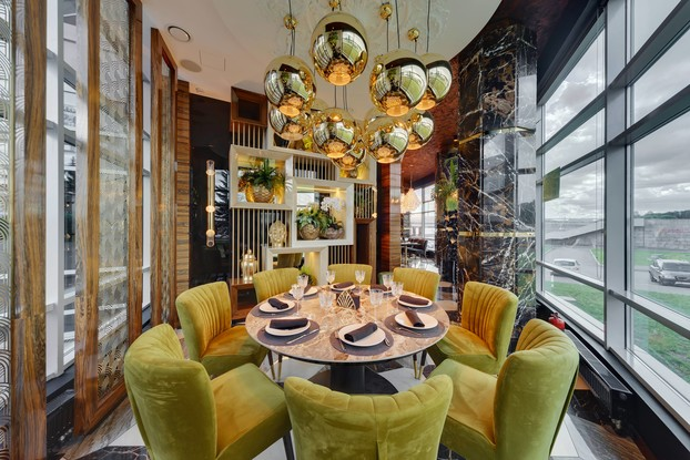 ресторан «Cristal», Санкт-Петербург