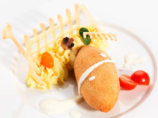 Ресторан «Тройка», Санкт-Петербург: Котлета по-киевски