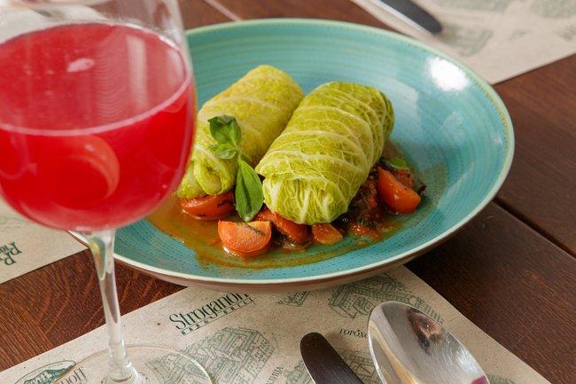 Stroganoff Bar & Grill: Внимание на овощи