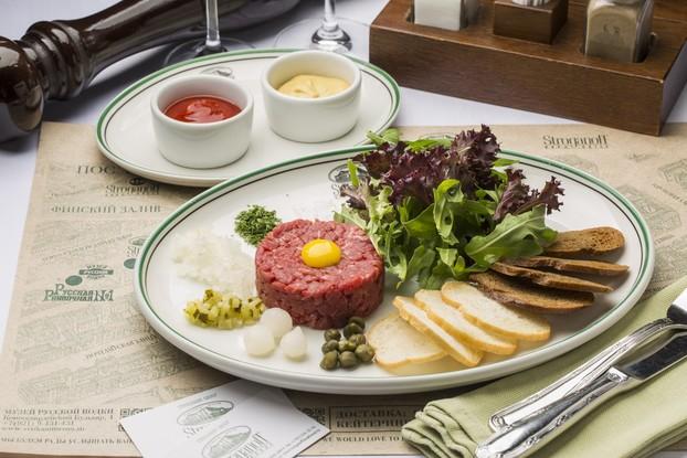 Ресторан «Stroganoff Steak House», Санкт-Петербург: Тартар из мраморной говядины