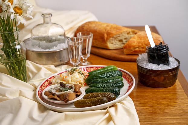 Ресторан «Русская рюмочная № 1», Санкт-Петербург: Закуска под водку №2